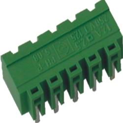 Stiftstecker PVxx-5,08-H-P, horizontal Raster 5,08 mm geschlossen