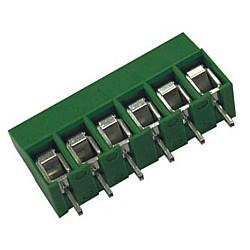 Leiterplattenklemme MVE25x-5-V-L vertikal 16,80 mm hoch, Raster 5,00 mm