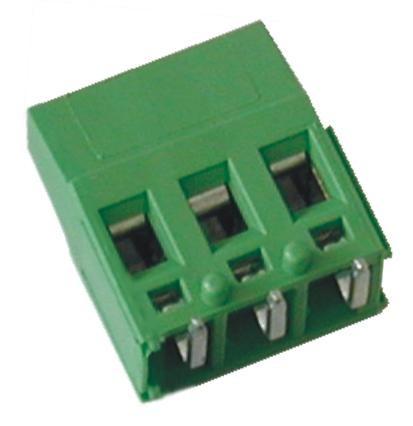 Leiterplattenklemme MVE25x-5-HR horizontal 16,80 mm hoch, Raster 5,00 mm
