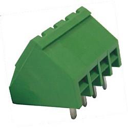Stiftstecker PIxx-5,08-IQ-P, 45° gewinkelt Raster 5,08 mm geschlossen