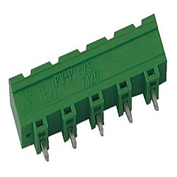 Stiftstecker PVxx-7,62-V-P, vertikal Raster 7,62 mm geschlossen