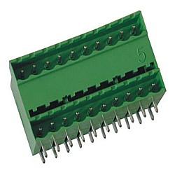 Stiftstecker PDHxx-5 2-stöckig horizontal Raster 5,00 mm