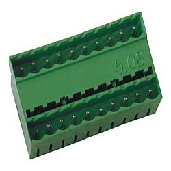 Stiftstecker PDVxx-5,08, 2-stöckig vertikal Raster 5,08 mm geschlossen