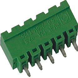 Stiftstecker PVxx-5-V-P vertikal Raster 5,00 mm geschlossen