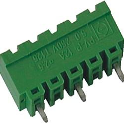Stiftstecker PVxx-10-V-P vertikal Raster 10,00 mm geschlossen