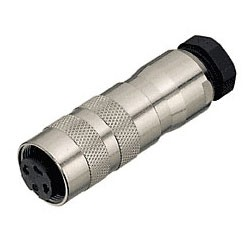 Binder Kabeldose mit Schraubanschluss 6 - 8 mm Serie 423