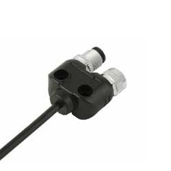 Binder 2-fach Verteiler 4 polig Serie 765, M12 Buchse/Stift