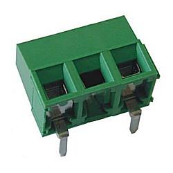 Leiterplattenklemme horizontal Raster 10,16 mm Bauhöhe 10,60 mm