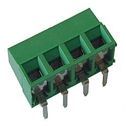 Leiterplattenklemme horizontal Raster 5,08 mm Bauhöhe 10,60 mm