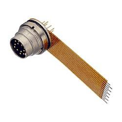 Binder Flanschstecker mit Kabel Serie 723