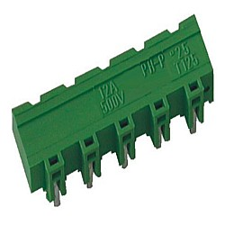 Stiftstecker PVxx-7,62-H-P horizontal Raster 7,62 mm geschlossen