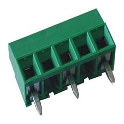 Leiterplattenklemme MV13x-7,62-V-L vertikal 8,50 mm hoch, Raster 7,62 mm