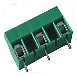 Leiterplattenklemme MVE15x-10-V-L, vertikal, 13,50 mm hoch, Raster 10 mm
