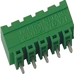 Stiftstecker PVxx-5,08-V-P vertikal Raster 5,08 mm geschlossen