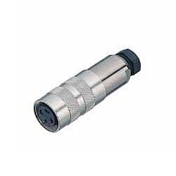 Binder Kabeldose mit Kabelklemme crimp 4 - 6 mm Serie 423
